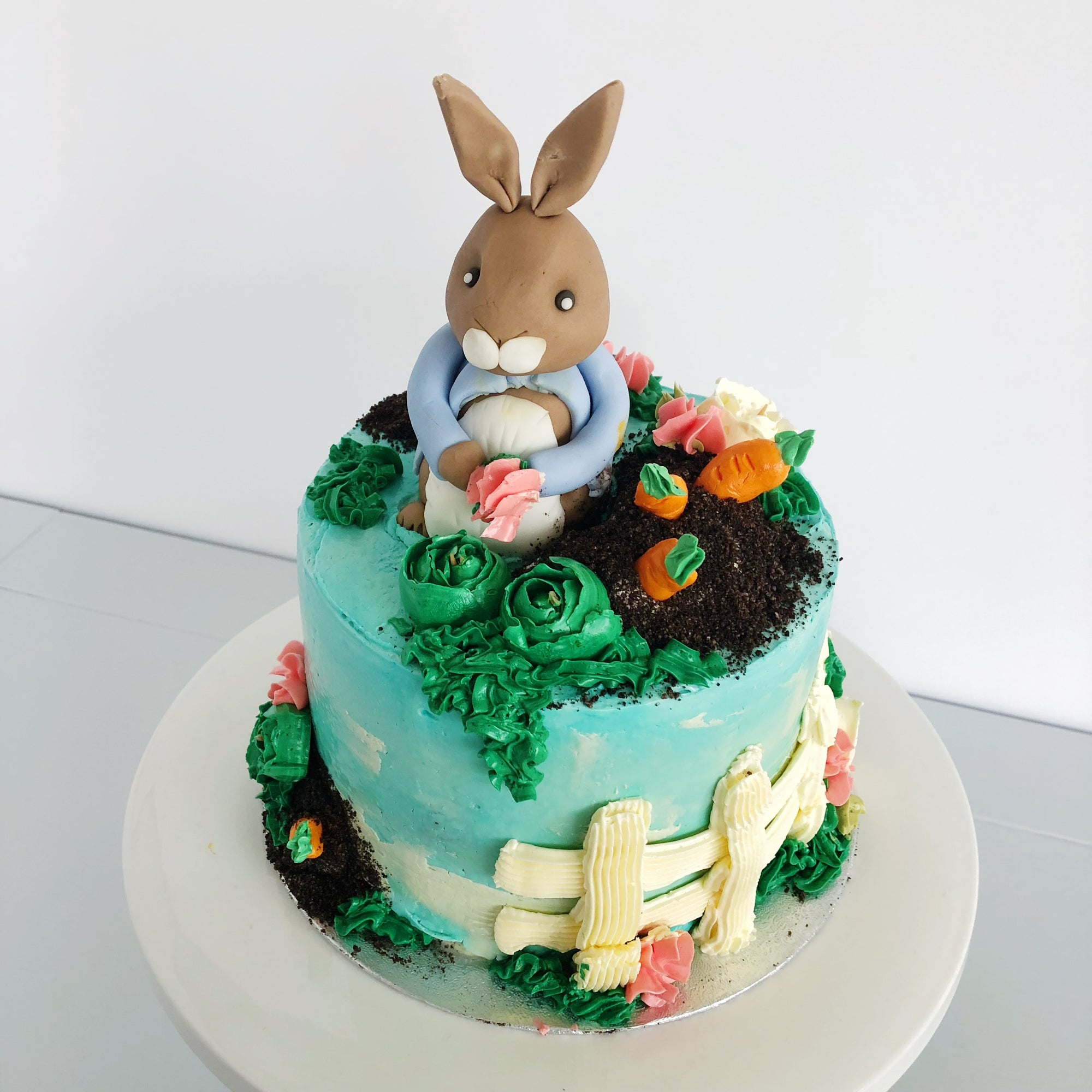 Super Peter Rabbit Inspired Birthday Cake Anges De Sucre Personalised Birthday Cards Epsylily Jamesorg