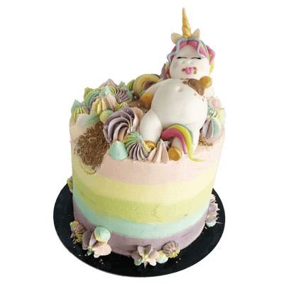 Vegan Fat Unicorn Cake Delivered