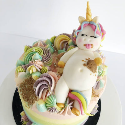 Vegan Fat Unicorn Cake London