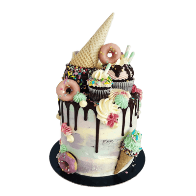 Vegan Ice Cream Drip Cake London