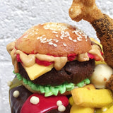 Burger Birthday Cake