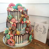 Lovebirds Wedding Cake London