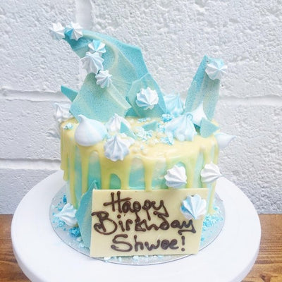 Personalised Frozen Elsa Birthday Cake Anges de Sucre Anges de Sucre