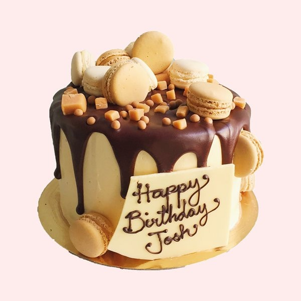 Choclate & Fudge Birthday Cake Delivered In London