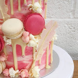 Flamingo Wedding Cake London