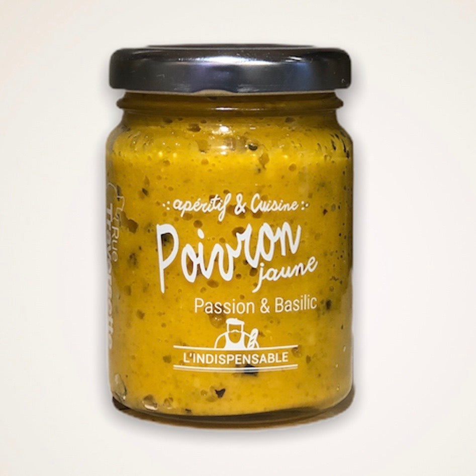 Tartinable Poivron jaune, Passion & Basilic
