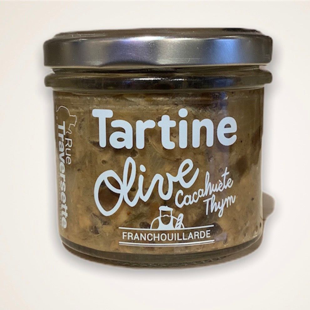 Tartinable Olive, cacahuète, thym