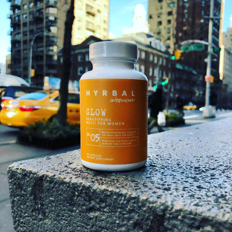 Hyrbal Glow Supplement in NYC with Taxi