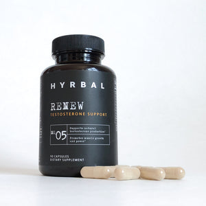 Hyrbal Renew T Support Supplement with Capsules