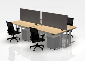 "30"" Think Desk (sit to stand) - Pod of 4"
