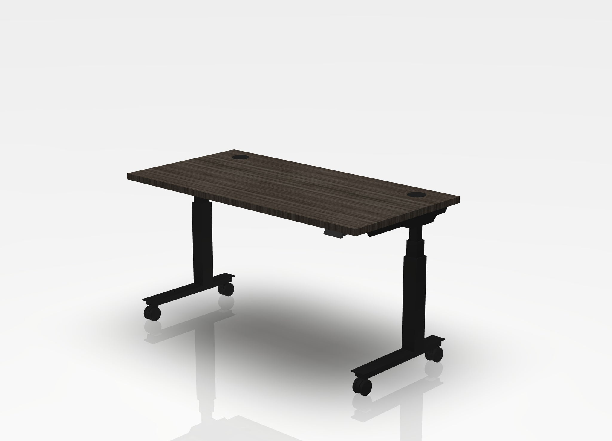 Mobile Think Desk (sit to stand)