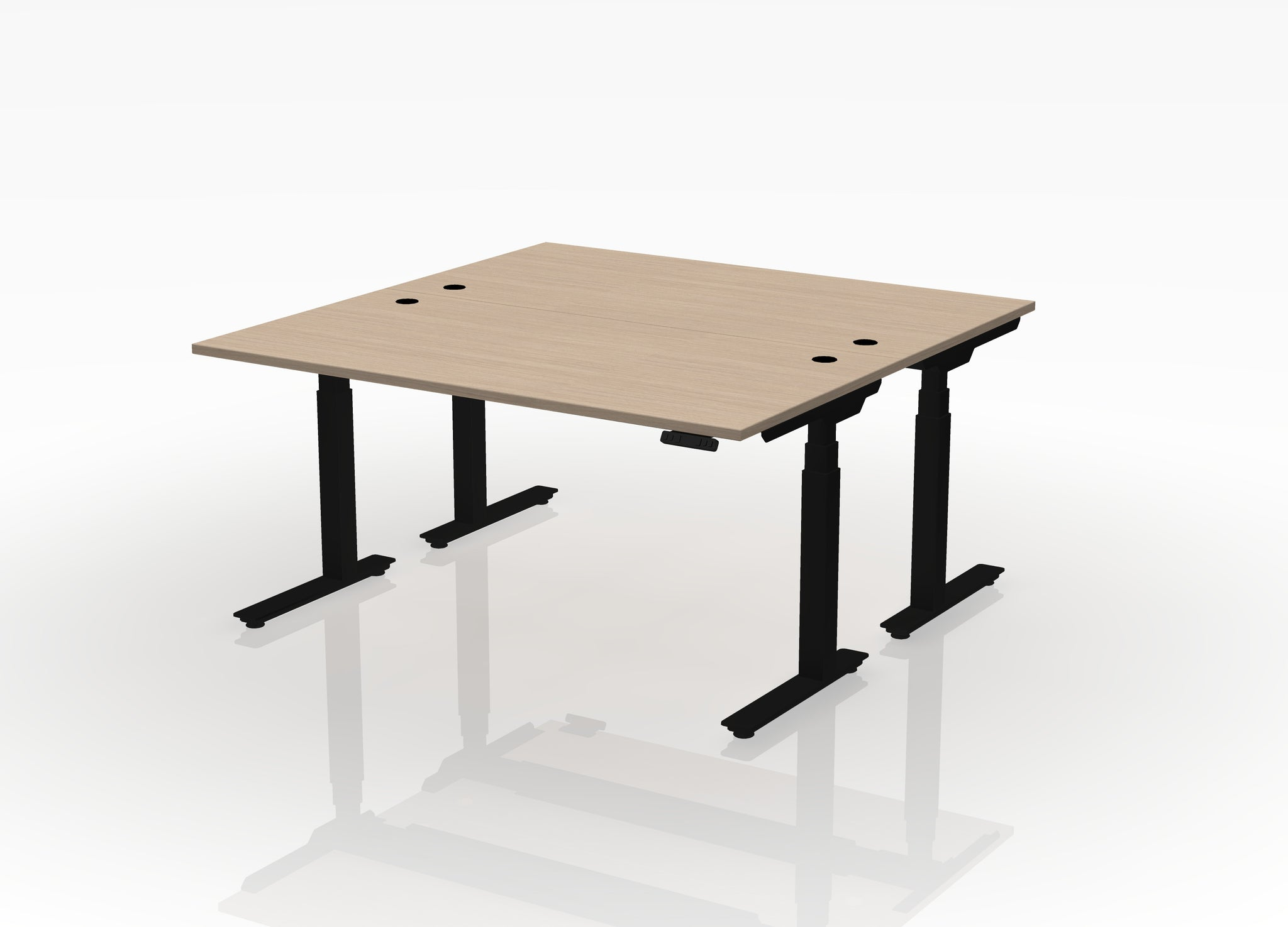 "24"" Think Desk (sit to stand) - Pod of 2"