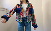 Load image into Gallery viewer, Mexican stripe jacket