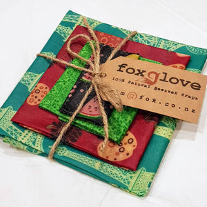 Foxglove Beeswax Food Wrap Packs (Various Pack Sizes)