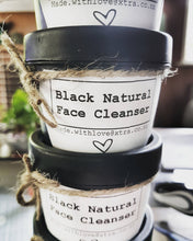 Load image into Gallery viewer, Black Natural Face Cleanser