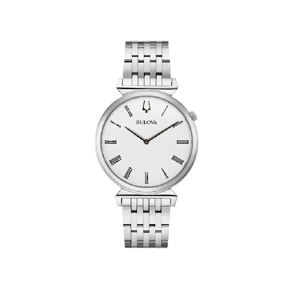 Bulova Ladies' Silver Tone Watch 96A232