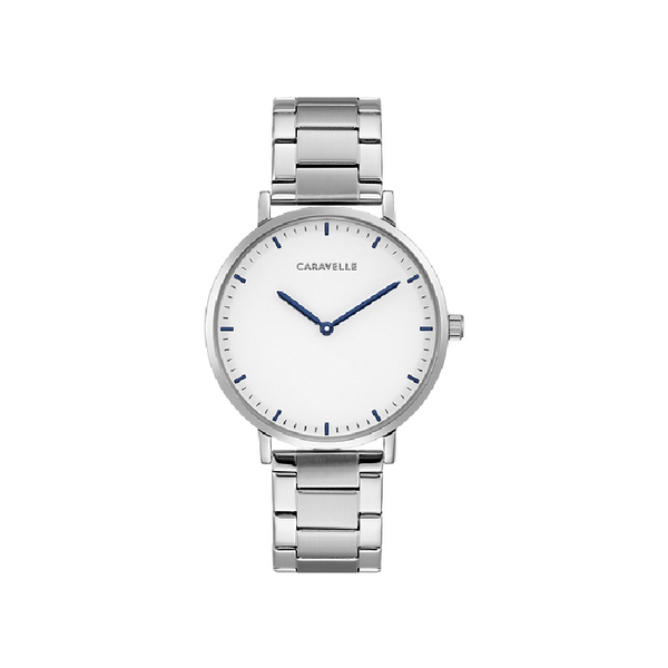 Caravelle by Bulova Silver Watch