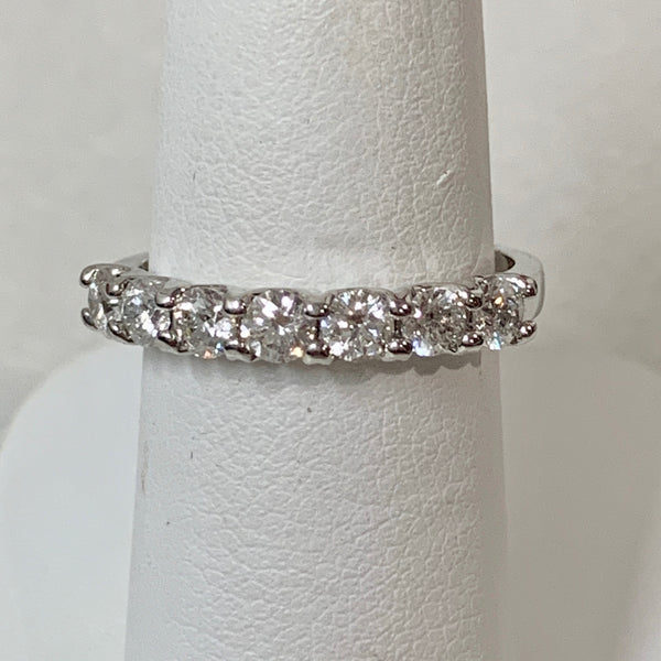 14K WG .758CTW RB CDN DIAMOND BAND #174250