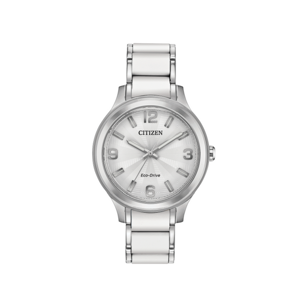 Citizen Eco-Drive Ladies' Silver Tone Watch FE7070-52A