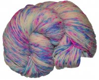 Speckled BFL Sport - Cotton Candy