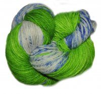 Speckled BFL Sport - Seahawks