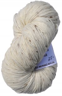 New Zealand Felted Merino Nylon - Natural Speck - DK Weight