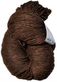 New Zealand Felted Merino Nylon - Natural Brown - DK Weight