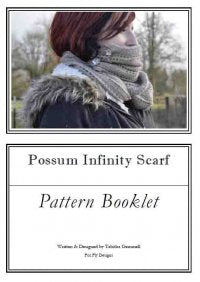 Hand Knit - Shawls and Shawlettes - Possum Infinity Scarf Pattern Booklet