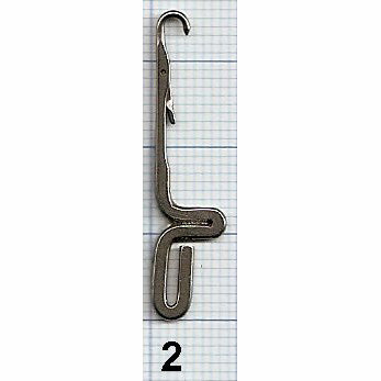 Sock Machine Needles - Large Hook Auto Knitter, Legare Ribber Needles - 12 Gauge
