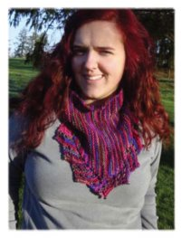 Hand Knit - Shawls and Shawlettes - To The Point Bandana