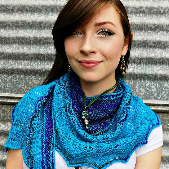 Hand Knit - Shawls and Shawlettes - Making Waves