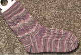 Hand Knit Sock Pattern - River Islands Lace Sock Pattern