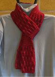 Hand Knit - Shawls and Shawlettes - Round About Lace Scarf