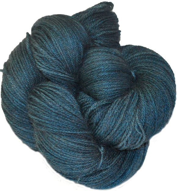 New Zealand Naturals - Possum Yarn - Teal Hand Dyed