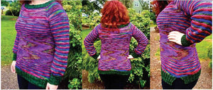 Hand Knit Patterns - Sweaters - Top That Tunic