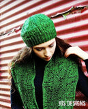 Hand Knit - Shawls and Shawlettes - Under the Influence Hat & Cowl Set