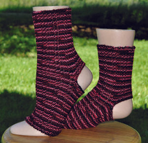 Sock Machine Sock Patterns - Yoga Sock