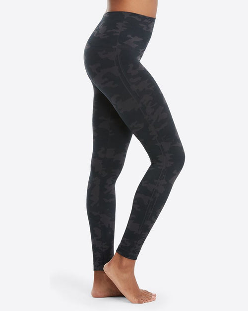SPANX Look at Me Now Seamless Leggings Black Camo