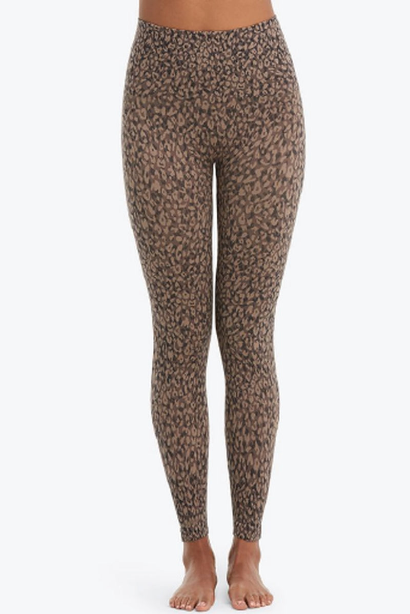 SPANX Look at Me Now Seamless Leggings Leopard