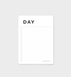 A5 Day Planner - Father Rabbit Stationery
