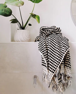 Pom Pom Turkish Bath Towel