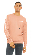 Load image into Gallery viewer, Jesus = Love Peach Sweatshirt