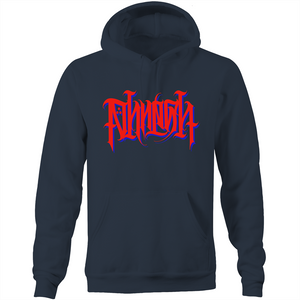 Laith Limited Red PHRESH SCRIPT Hoodie
