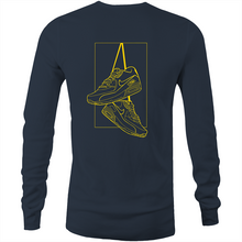 "Load image into Gallery viewer, Ricky Sweeney LIMITED ""Shoes"" Long Sleeve Shirt"