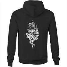 Load image into Gallery viewer, Elle Wills LIMITED Floral Snake HOODIE