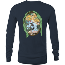 "Load image into Gallery viewer, Scott Carr LIMITED ""The Yurei"" Long Sleeve Shirt"