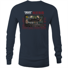 "Load image into Gallery viewer, Gheefx LIMITED ""Lost Tapes Vol 1"" Long Sleeve Shirt"