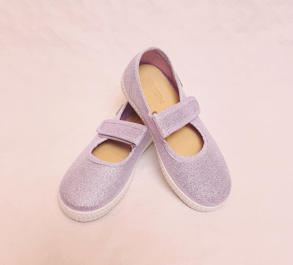 Natural World Ballerinas Mercedes Lila Glitter