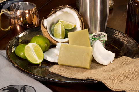 Lime Coconut Hempseed Oil Soap