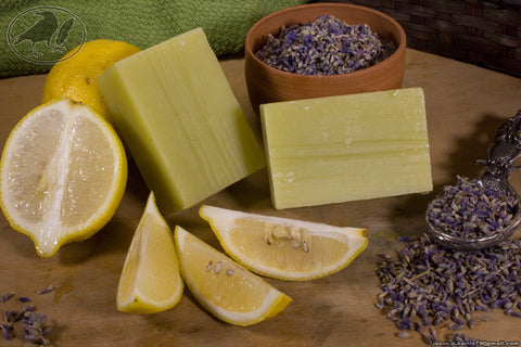 Lavender & Lemon Hempseed Oil Soap